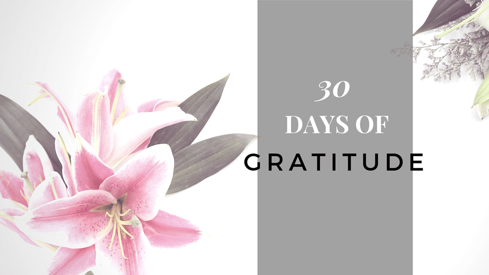 Take the 30-day challenge to practice gratitude in your life. Learn the benefits of gratitude and how it can help you create more meaningful goals for the year.